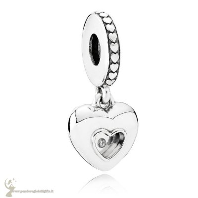Catalogo Pandora Simboli D'Amore Charms 2017 Club Charm Diamante