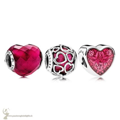 Catalogo Pandora Fortunato In Amore Fucsia Fascino Pack