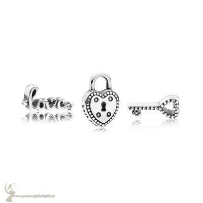 Catalogo Pandora Key To My Heart Petite Charm Pack