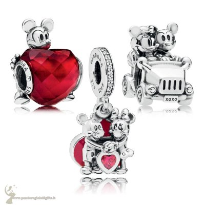 Catalogo Pandora Disney Mickey Pacchetto Charm Amore E Minnie