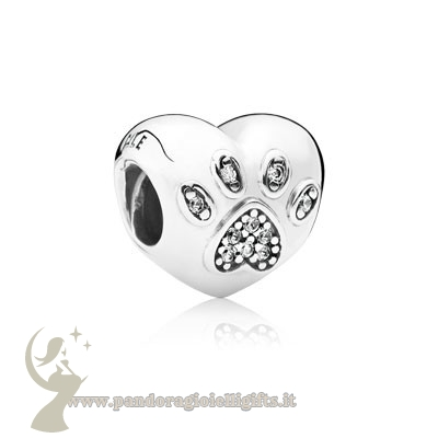 Catalogo Pandora Animali Charms Io Amo Il Mio Animale Domestico Charm Clear Cz