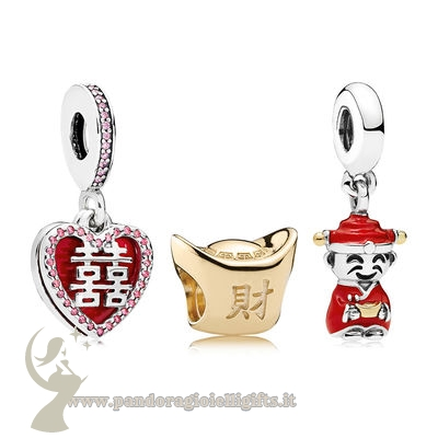 Catalogo Pandora Happiness Fortune And Luck Charm Pack